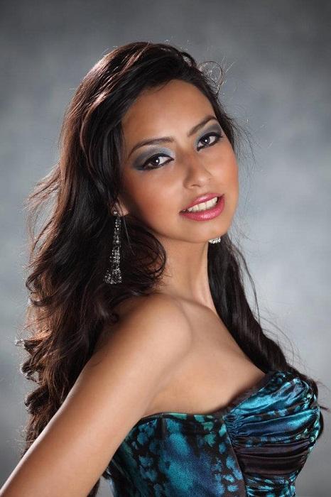 MarÃa Алехандра Кастильо Мисс Боливия Мундо 2013. фото