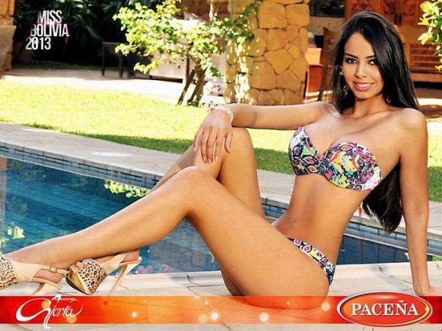 Мария Алехандра Кастильо Мисс Боливия 2013 года. горячие фото