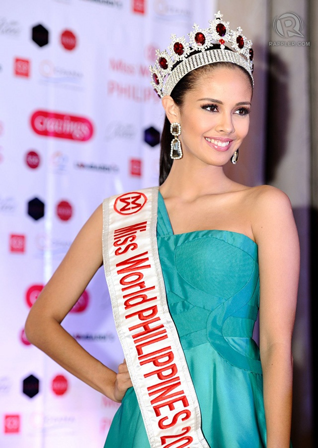 Filipino American TV-host Megan Young photo