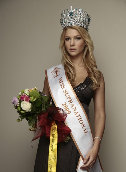 Oksana Moria (Ukraine) Miss Supranational 2009 pageant winner. picture