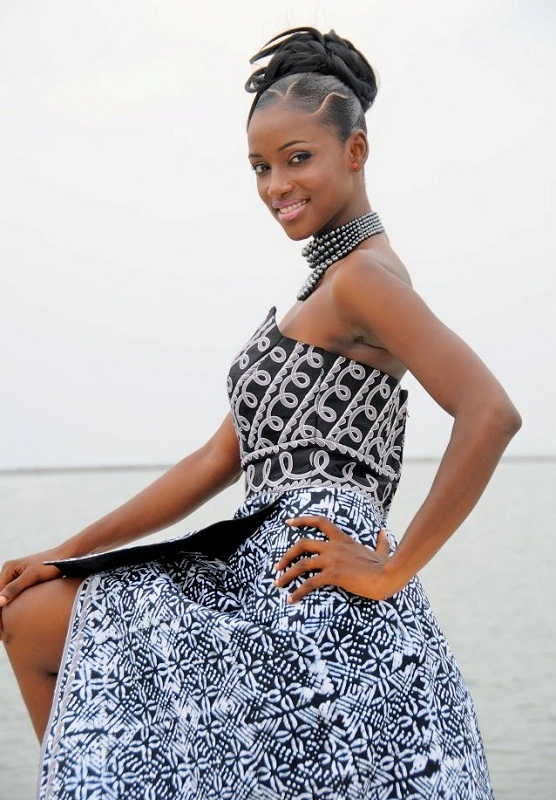 Mariama Diallo - Miss Guinea World 2013