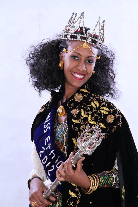 Genet Tsegay - Miss Ethiopia World 2013