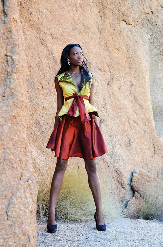 hot Namibian girl Paulina Malulu Miss Namibia World 2013 photo