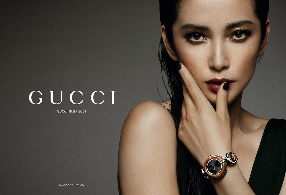 Li Bingbing / 李冰冰 face of Gucci in Asia