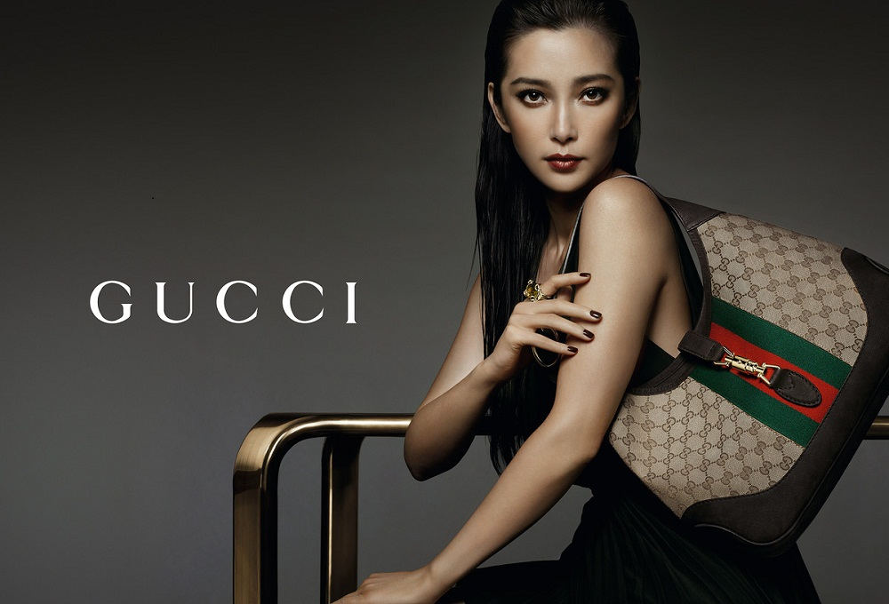 Li Bingbing / 李冰冰 with Gucci bag