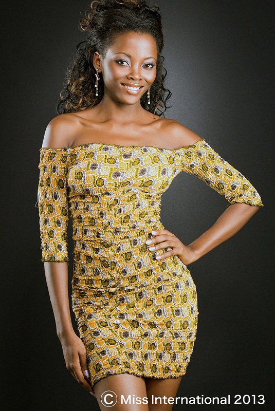 Reilly Mboumba Makaya Miss Gabon International 2013 photo
