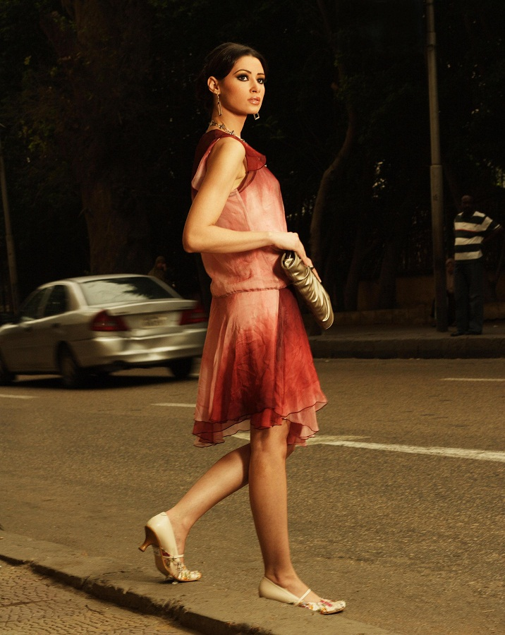 Egyptian fashion model Arwa Gouda / أروى جودة picture