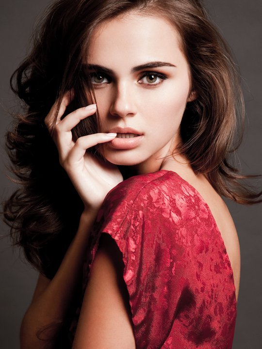 The most beautiful Moldovan woman Xenia Deli picture