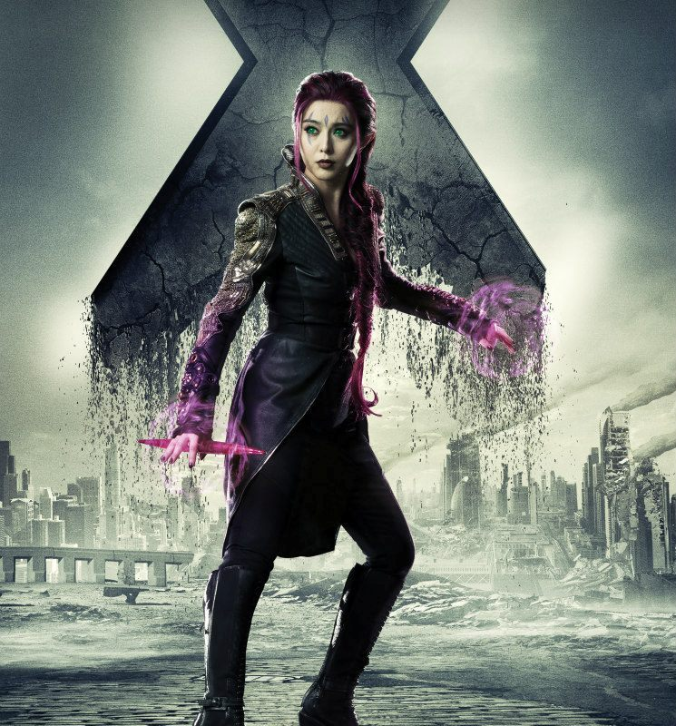 Fan Bingbing in a movie X-Men: Days of Future Past (2014) as Blink