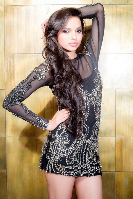Gail Nicole Da Silva Miss India Goa 2013. Photo