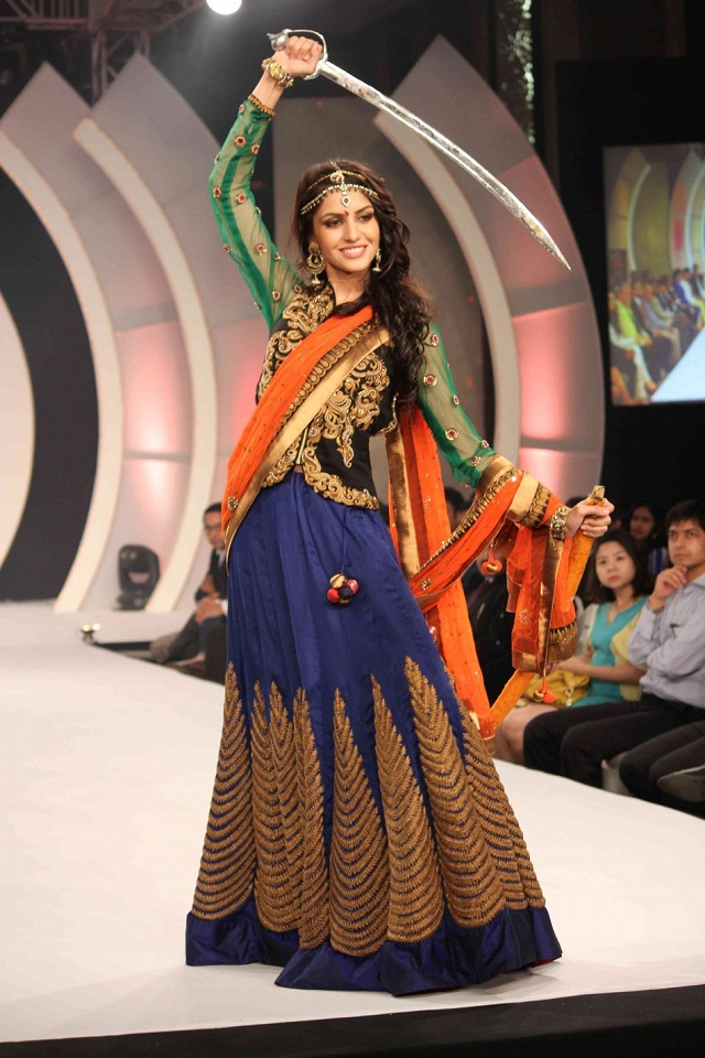 Koyal Rana in the national costume
