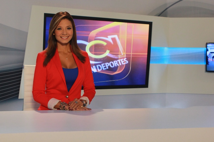 Melissa Martinez Colombian TV presenter (RCN channel) picture