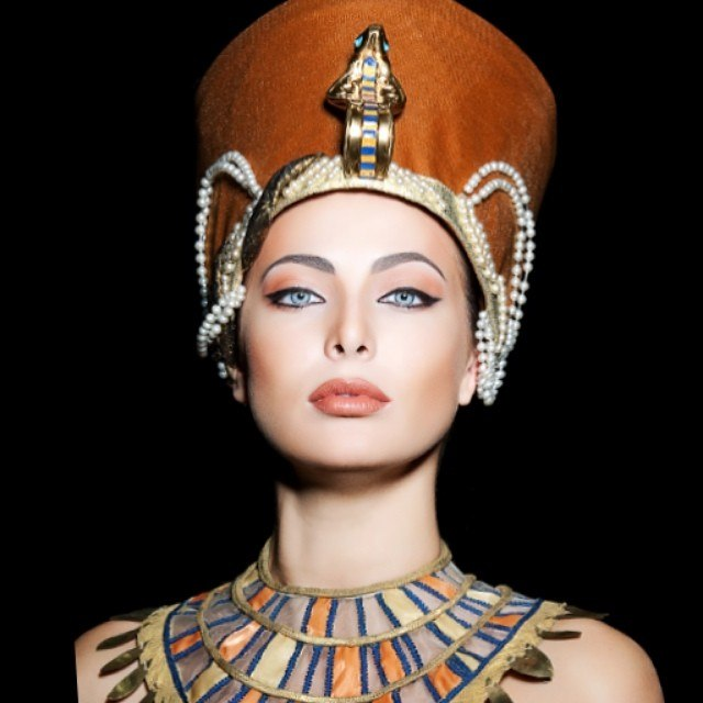 Yulia Alipova as Nefertiti (the Great Royal Wife of the Egyptian Pharaoh Akhenaten)