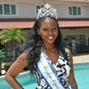 Brunilla Moussadingou - Miss Gabon World 2013 (4 photos)